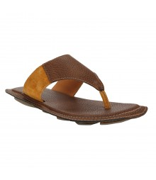 Le Costa Tan Slipper for Men - LSP0009
